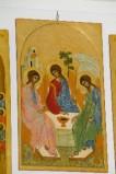 Suor Marie Paul secc. XX-XXI, Icona con la Trinità di Rublev