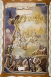 Melle G. (1955), Dipinto murale di Gesù Cristo deposto nel sepolcro