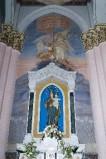 Melle G. sec. XX, Dipinto murale di Vittoria di Lepanto