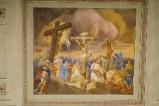 Melle G. (1949), Dipinto murale della Crocifissione di Gesù