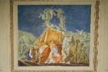 Melle G. (1949), Dipinto murale della Natività di Gesù