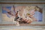 Melle G. (1949), Dipinto murale di angeli con braciere