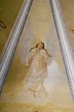 Melle G. sec. XX, Dipinto murale di angelo orante