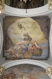 Melle G. (1955), Dipinto murale di San Giovanni Bosco in gloria