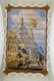 Melle G. (1955), Dipinto murale di San Giovanni Bosco e gli ammalati