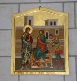 Mangano M. (2002), Icona di Gesù condannato a morte