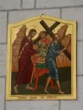 Mangano M. (2002), Icona di Gesù aiutato dal cireneo