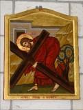 Mangano M. (2002), Icona di Gesù che cade la seconda volta