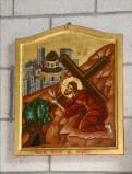 Mangano M. (2002), Icona di Gesù che cade la terza volta