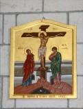 Mangano M. (2002), Icona di Gesù inchiodato alla croce