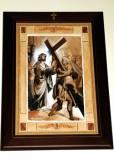 Afrune G. sec. XXI, Gesù Cristo caricato della croce