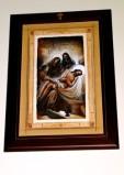 Afrune G. sec. XXI, Cornice di Gesù Cristo deposto nel sepolcro