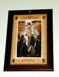 Afrune G. sec. XXI, Cornice di Gesù Cristo morto in croce