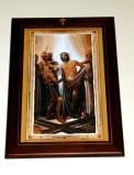 Afrune G. sec. XXI, Cornice di Gesù Cristo spogliato e abbeverato di fiele
