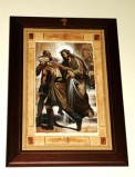 Afrune G. sec. XXI, Cornice di Gesù Cristo condannato a morte