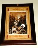 Afrune G. sec. XXI, Gesù Cristo inchiodato alla croce
