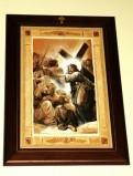 Afrune G. sec. XXI, Gesù Cristo consola le donne di Gerusalemme