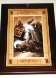 Afrune G. sec. XXI, Gesù Cristo incontra la Madonna e le pie donne