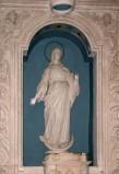Bottega salentina sec. XIX, Statua Madonna Immacolata in pietra