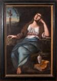 Ambito salentino sec. XVIII, Dipinto di Maria maddalena