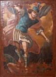 Ambito salentino sec. XVIII, Dipinto di San Michele arcangelo