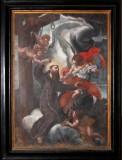 Ambito salentino sec. XVIII, Dipinto di San Giuseppe da Leonessa