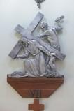 Alesco (1976), Via Crucis di Gesù che cade la seconda volta