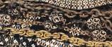 Bottega siciliana inizio sec. XVII, Ex voto a collana alla spagnola smaltata