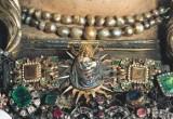 Bottega siciliana primo quarto sec. XVII, Ex voto a collana con Madonna