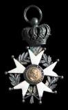 Bottega siciliana primo quarto sec. XIX, Ex voto a spilla della Legion d'Onore
