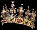 Bottega italiana secc. XIV-XV, Corona di Sant'Agata