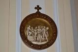 Bottega siciliana sec. XX, Rilievo con la I stazione della Via Crucis