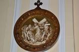 Bottega siciliana sec. XX, Rilievo con la IV stazione della Via Crucis