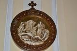 Bottega siciliana sec. XX, Rilievo con la XI stazione della Via Crucis
