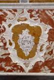 Bottega siciliana metà sec. XVIII, Bassorilievo con emblema di S. Ignazio
