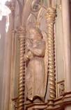 Bottega siciliana secc. XIX-XX, Altorilievo con Angelo sinistro
