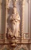 Bottega siciliana secc. XIX-XX, Altorilievo con S. Marco Evangelista