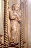 Bottega siciliana secc. XIX-XX, Altorilievo con Angelo destro