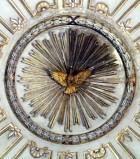 Bottega siciliana sec. XVIII, Altorilievo con Colomba dello Spirito Santo