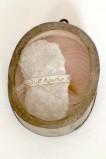 Bottega siciliana secc. XIX-XX, Reliquiario a medaglione di S. Agata