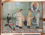 Bottega siciliana (1932), Dipinto ex voto con Guarigione miracolosa