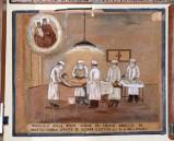 Bottega siciliana (1953), Dipinto ex voto con Guarigione miracolosa da ulcera
