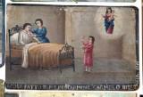 Bottega siciliana (1911), Dipinto ex voto con Guarigione miracolosa