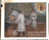 Bottega siciliana (1949), Dipinto ex voto con Guarigione miracolosa