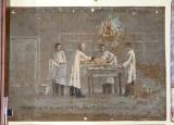 Bottega siciliana (1938), Dipinto ex voto con Guarigione miracolosa