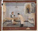 Bottega siciliana (1942), Dipinto ex voto con Guarigione miracolosa