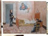 Bottega siciliana (1941), Dipinto ex voto con Guarigione miracolosa