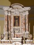 Maestranze siciliane sec. XVIII, Edicola sommitale dell'altare maggiore