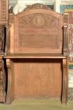 Bottega siciliana secc. XIX-XX, Sedia a braccioli 2/2