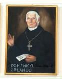 Bottega siciliana sec. XX, Ritratto del vescovo Domenico Orlando